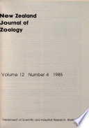 1985 - Vol. 12, No. 4